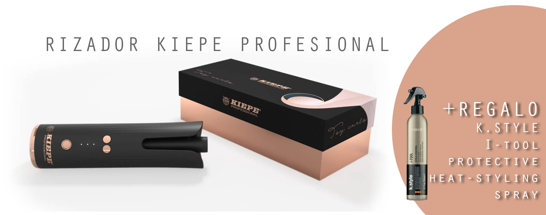 RIZADOR KIEPE TOY CURLS